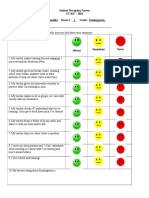 sy17 - 18 student perception survey