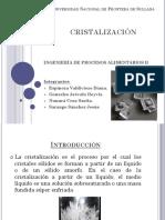 Cristalizacion  expo UNF
