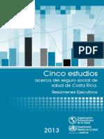 Cinco Estudios Seguro Social Cr