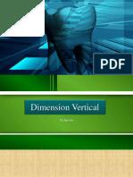 concepto de dimensin vertical