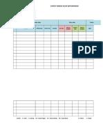 Form Survey Kondisi Jalan Dan Drainase