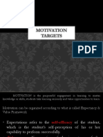 3 Motivation TARGETS