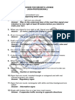 Questionnaire for NON-PROFESSIONAL DRIVER'S_NoRestriction