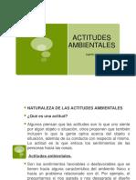 Cap. 4 Actitudes Ambientales
