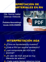 Interpretacion de Gases Arteriales en Rn