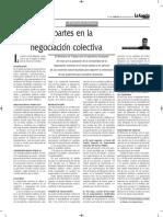 Las Partes en La Negociacion Colectiva - Autor José María Pacori Cari