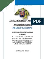 Trabajo de Campo Seguridad Informe