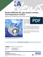 WIKA News Low Temperature En