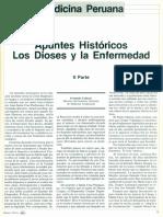 Apuntes Historicos Los Dioses y La Enfermedad (1)