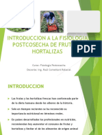 1. Introduccion a La Fisiologia Postcosecha de f y h