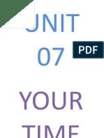 Unit 07 Starter