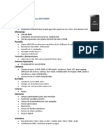 Características Técnicas Del Samsung Galaxy S5