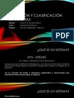Definición y Clasificación de Sistemas