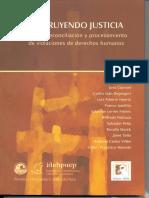 2005-Construyendo Justicia, Verdad, Reconciliación y Procesamiento de Violaciones de Derechos Humanos