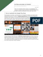 Aprenda a recuperar fotos excluídas no Android.pdf