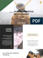 Daniel Tirado - Los 23 Mandamientos de un Viajero.pdf