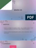 Sesion 03 Densidad atómica y Factor de Empaquetamiento
