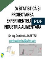 Analiza Statistica Si Proiectarea Experimentelor C1_2017_18