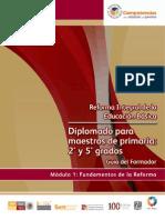 MÓDUL0 1 GUIA DEL FORMADOR 2º y 5º RIEB FUNDAMENTOS DE LA REFORMA CICLO 2010 2011