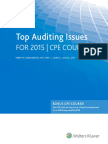 Top Audit Issues 2015