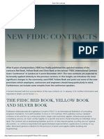 New FIDIC Contracts