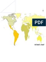Mapa Mundi Amarillo