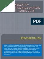 Tahun 2018 Seksi Distribusi Pangan