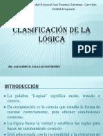 Clasificación de La Lógica