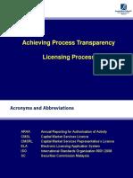 Sc Licensing Process