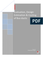 Evaluation, Design Estimation & Costing of Bus Ducts
