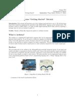 Arduino GettingStarted