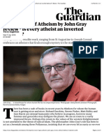 Seven Types of Atheism by John Gray review – is every atheist an inverted believer? | Books | The Guardian