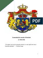Comandanţi de Armată a României