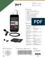 Smartlav Plus Datasheet