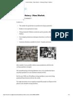 Fashion History _ Mass Market. – Namanpal Singh – Medium