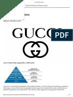 Gucci's Brand Value