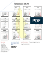 Calendario Laboral Melilla 2018
