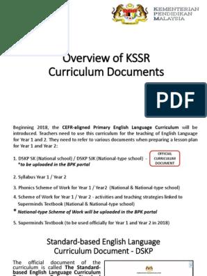 CEFR INHOUSE LDP | Phonics | Curriculum