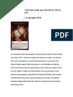 Portrait of Jennie Film Review.wps