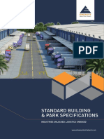 Embassy Industrial Parks Standard Building and Park Specifications