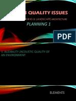 Arplanning& Landscape Arch23qualitygoalissues