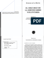 14_La Boetie, Etienne - Discurso Sobre La Servidumbre Voluntaria
