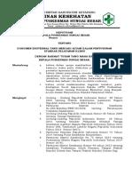 9.2.2.3 Sk Dokumen Eksternal Yang Menjadi Acuan Dalam Penyusunan Standar Pelayanan Klinis