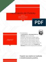 Factorización de Cholesky