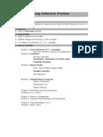 C++ Programming, Patterns & Practices