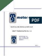 Manual Seat Toledo y Altea XL 1.6 REV.2