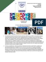 Press Release - CEDO 30th Anniversary