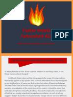 foster meets fahrenheit 451
