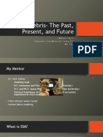 orbital debris- the past present and