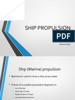 Ship Propulsion 1